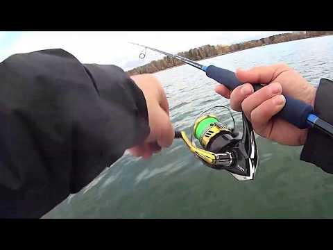 ВОТ ЭТО РЫБИНА клюнула НА МАНДУЛУ! Рыбалка осенью на водохранилище