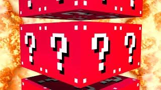Minecraft: EVIL LUCKY BLOCK PARKOUR! - w/Preston & Kenny