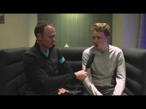 Inside October Training Camp - Chris Froome interviews Tao Geoghegan Hart