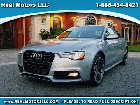 2015 Audi A5 Premium Plus with 4K miles in Clearwater Fl, Tampa Bay