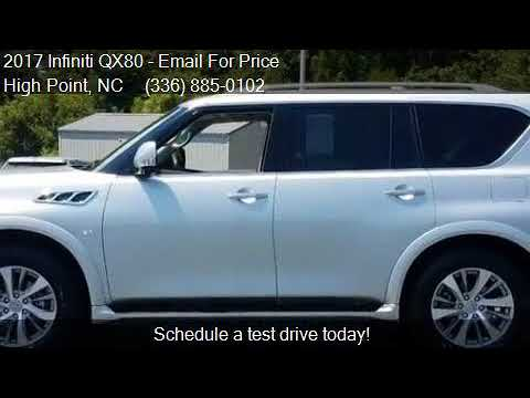 2017 Infiniti QX80for sale in High Point, NC 27263 at Kyle