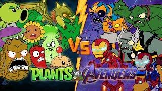Best Avengers Vs Plants Vs Zombies - All Premium Plants Power Up! in Plants vs Zombies 2