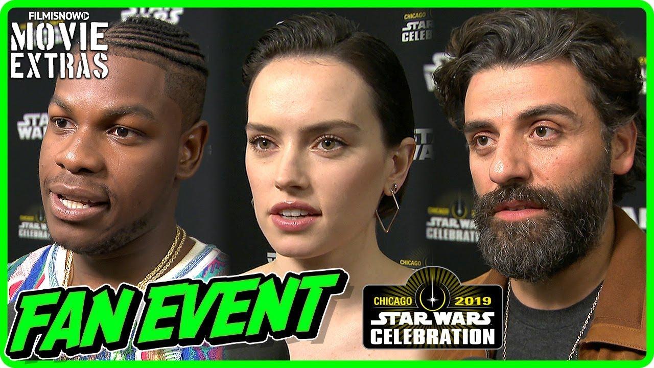 Star Wars The Rise Of Skywalker Star Wars Celebration Fan Event Cast Crew Interviews Youtube