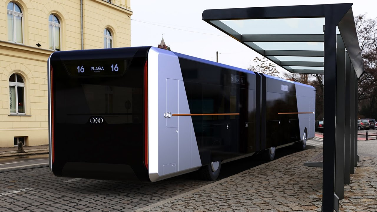 Future Audi City Bus Concept Youtube