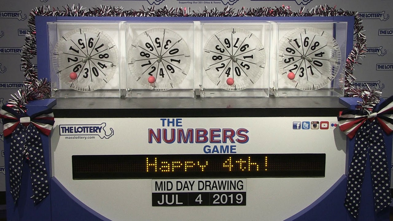 Midday Numbers Game Drawing: Thursday, July 4, 2019