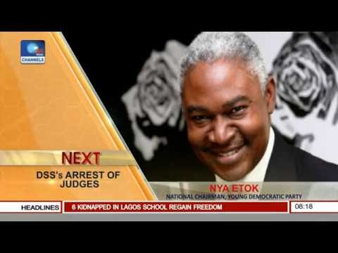 Sunrise Daily: Nigerians Have Lost Confidence In Justice, Common Man Has No Hope-- Nya Etok Pt 1