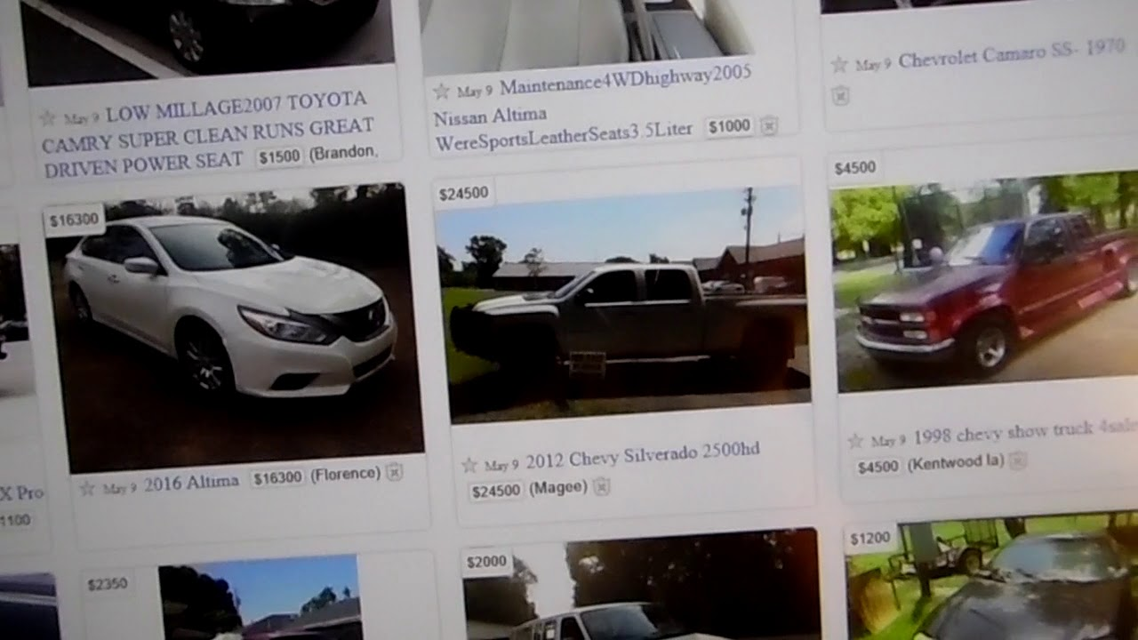Craigslist Cars For Sale Scams Beware Potential Buyers ...