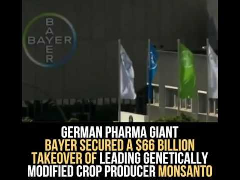 Bayer And Monsanto Merge - The Two Worst Companies You Buy From Everyday