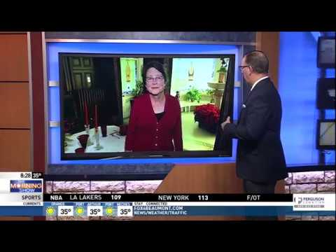 McFaddin Ward House on Fox4Beaumont's Morning Show 12-13-2017