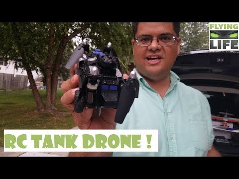 RC TANK DRONE !! JJRC H40WH TANK DRONE GEARBEST