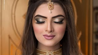 Walima bridal makeup tutorial | Gorgeous look with Gabrini products | Farah's beauty salon