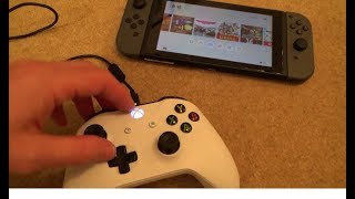 How to Use Xbox One / 360 Controllers on the Nintendo Switch