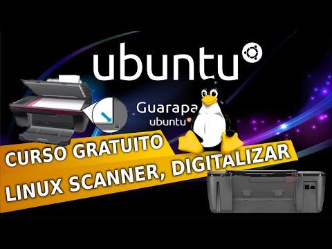 Curso de Linux Ubuntu - 26 - como escanear um documento usar digitalizador