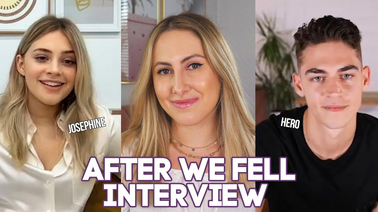 Download Josephine: ''Ik wilde dat de intieme scènes voorbij waren'' - After We Fell Interview 💜