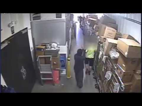 Surveillance Video Of Armed Robbery Of Dollar General Store