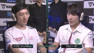 [SBENU SSL 2015] INnoVation vs sOs  RO.16 Group herO Loser