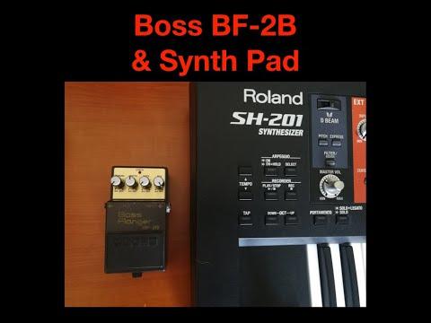 Boss BF-2B & Synth Pad