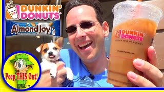Dunkin' Donuts® | Almond Joy® Iced Coffee Review! Peep THIS Out!