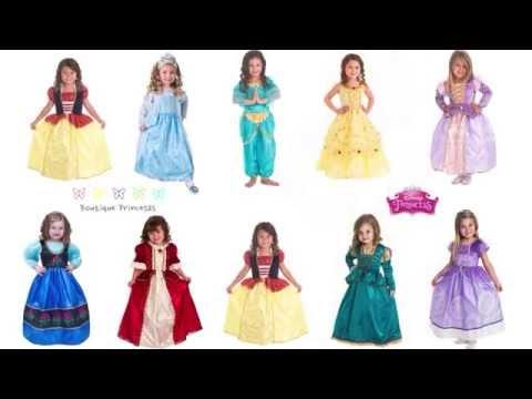 Todos Los Vestidos Princesas Wwwprincesasco Youtube