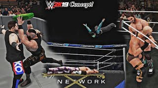 5 Objects in Current WWE 2K Games that should be weapons in WWE 2K19!