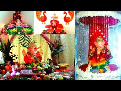 #best Ganpati decoration ideas for home 2018/#ganeshchaturthi