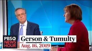 Michael Gerson and Karen Tumulty on 2020 Senate races, Israel and Trump