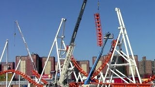 Thunderbolt construction update2 HD Luna Park, Coney Island NYC