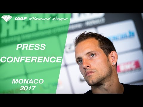 Monaco 2017 Press Conference - IAAF Diamond League