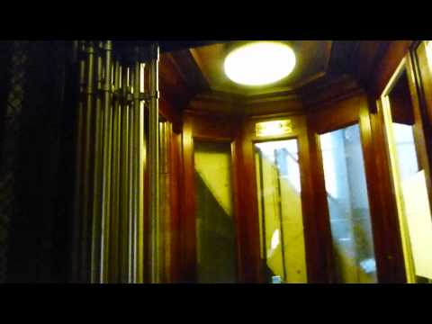 Graham Brothers antique elevator @ Bergsundsgatan 22 in Stockholm