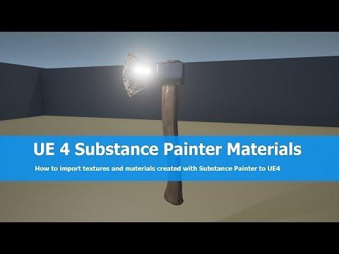 UE4 Substance Painter Tutorial: Import Textures