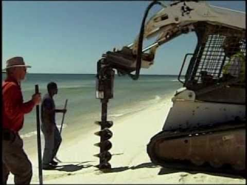 "BP contractors now ""DRILLING FOR OIL ON Alabama BEACHES.. and finding it"" -- Tourist ""amazed"""