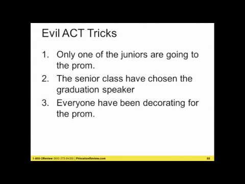 ACT Strategy Workshop from the Princeton Review and Zinch