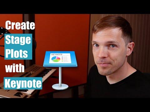 Create Stage Plots With Keynote