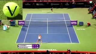 Зачем теннисистки ломают ракетки? TennisVIP