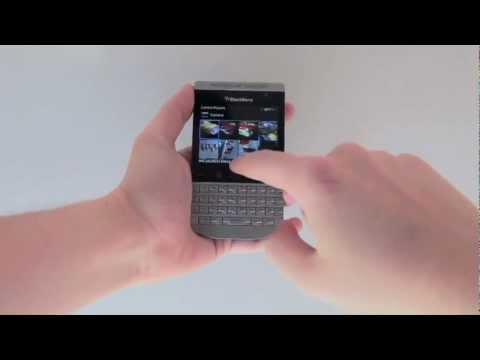 Porsche Design BlackBerry P'9981 Hands on