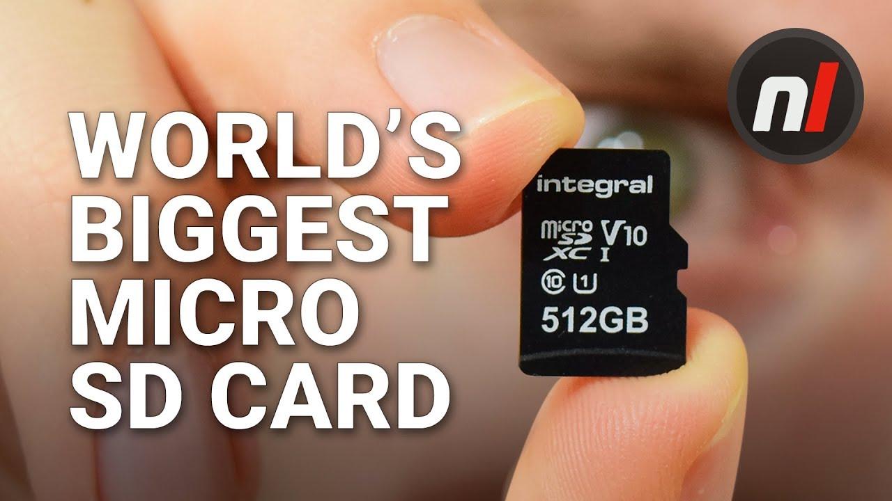 The World's Biggest Micro SD Card - Integral 512GB Micro SD