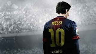 FIFA 14 PS4- Messi dribbling tribute (no need for skill moves pt 1)