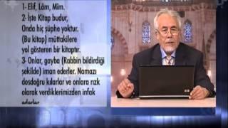 ŞİFA TEFSİRİ - MAHMUT TOPTAŞ HOCAEFENDİ -BAKARA SURESİ 407.DERS AYET 01-05 1)