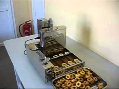 ofs 01 otex mini donut machine youtube. Black Bedroom Furniture Sets. Home Design Ideas
