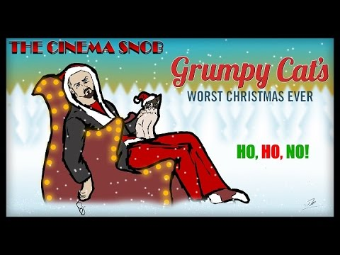 The Cinema Snob: GRUMPY CAT'S WORST CHRISTMAS EVER