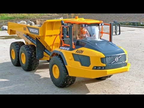 bruder truck volvo a60h dumper 6x6 rc buggy long play. Black Bedroom Furniture Sets. Home Design Ideas