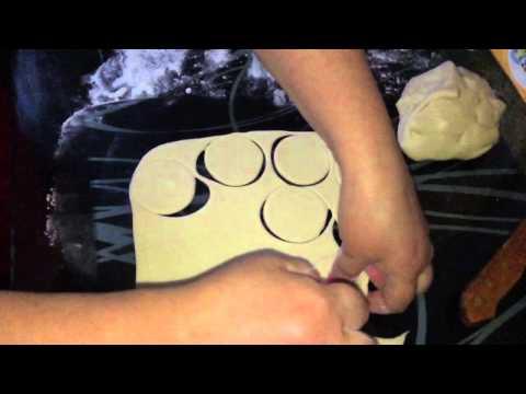Нежное тесто для вареников с картошкой, с плавлеными сырками (часть 1)