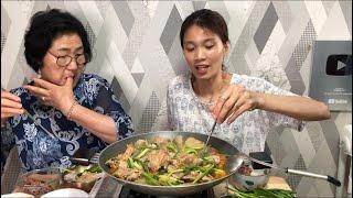 |TẬP 516| CHO MẸ CHỒNG ĂN THỬ VỊT NẤU CHAO MIỀN TÂY XEM PHẢM ỨNG! DUCK MEAT MUKBANG EATING SHOW!