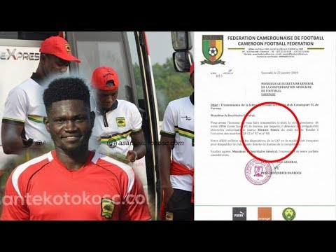 ASANTE KOTOKO TO BE EVICTED FROM CAF CONFED CUP? FULL STORY