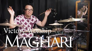 MAGHARI by Victory Worship - Drum Cover by Jesse Yabut