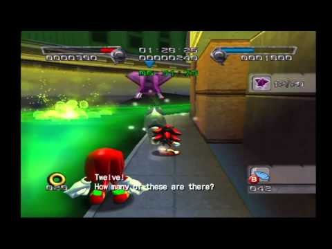 Shadow the Hedgehog: Stage 4-1 Central City (Hero Mission no com)