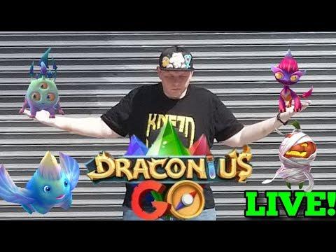Live NOW! 🐉 Draconius GO 🐉 IRL B4 DARK 💀 Stream in NYC 🗽