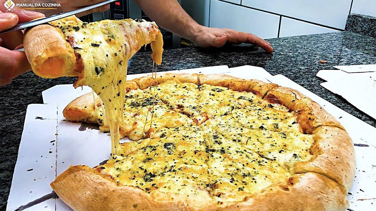 8 receitas de pizza quatro queijos de dar gua na boca