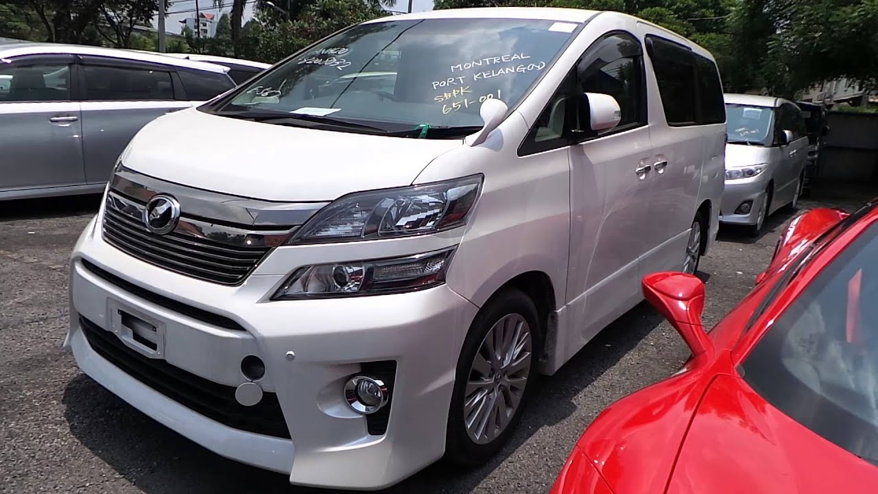 buy and sell cars in malaysia toyota vellfire 2 4 unreg carsifu. Black Bedroom Furniture Sets. Home Design Ideas