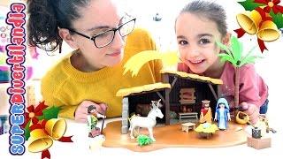 Portal de Belén de Playmobil - Set de Navidad